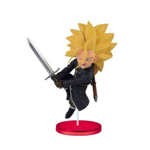 Action Figure Bandai Banpresto Dragon Ball Heroes WCF Trunks Xeno