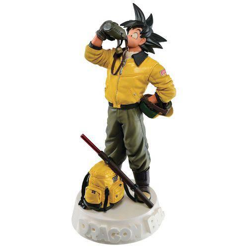 Action Figure Dragon Ball Escultura Son Goku Especial Color