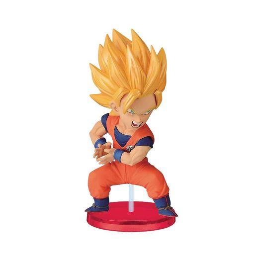 Action Figure Dragon Ball - Kamehameha Wcf - Goku Saiyajin 2