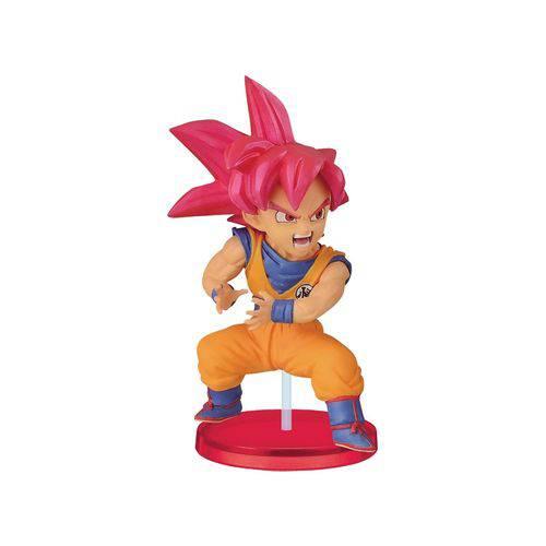Action Figure Dragon Ball Wcf Kamehameha - Goku God