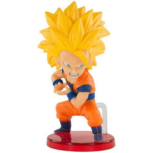 Action Figure Dragon Ball - Wcf Kamehameha - Goku Saiyajin 3