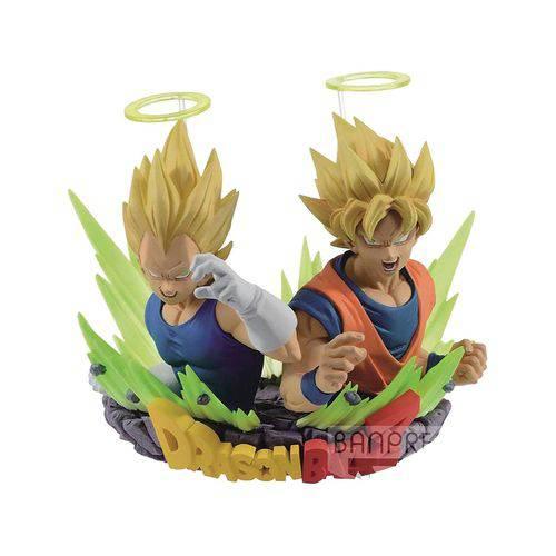 Action Figure Dragon Ball Z - Super Saiyajin Goku & Super Saiyajin Vegeta