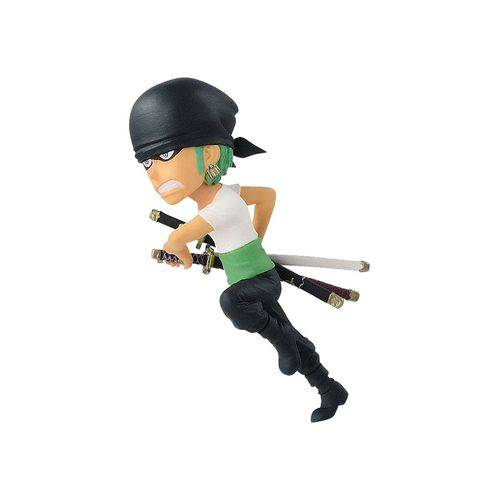 Action Figure One Piece - Wcf 20Th - Roronoa Zoro