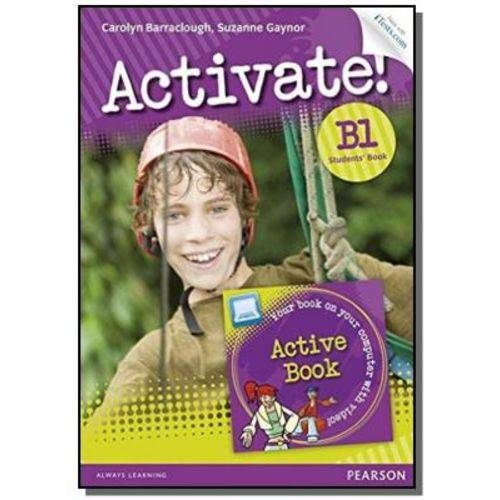 Activate! B1 Sb With Active Book