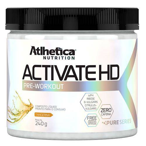 Activate Hd 240g - Atlhetica Nutrition