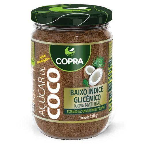 Açúcar de Coco Copra 350g - 12 Unidades