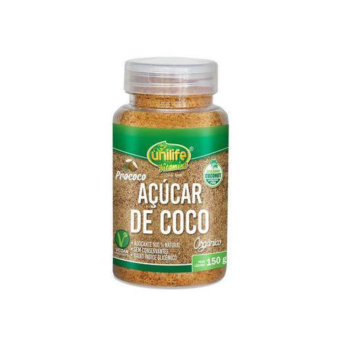 Açúcar de Coco Orgânico 150g Unilife