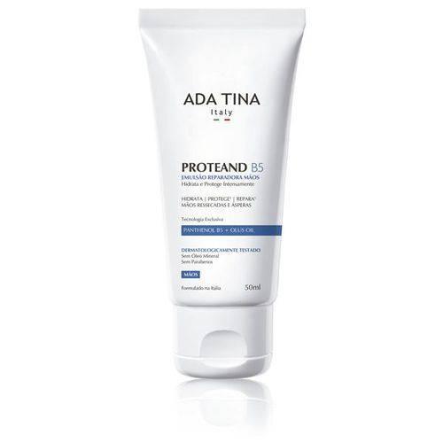 Ada Tina Proteand B5 - Creme Hidratante para as Mãos 50ml