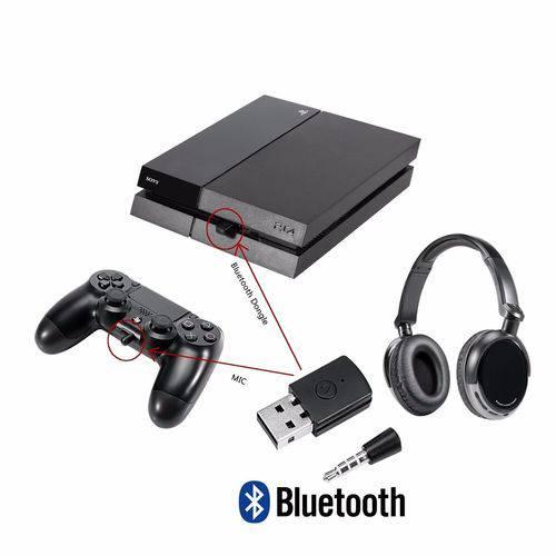 Adaptador Bluetooth Ps4 para Qualquer Fone Bluetooth Ps4
