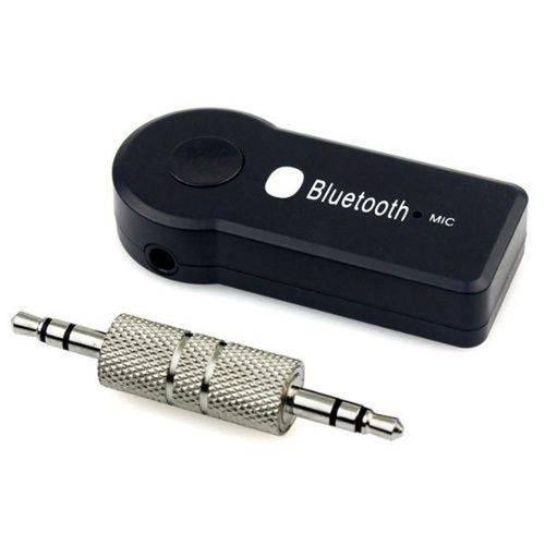 Adaptador Bluetooth Receptor de Musica Cabo P2 30cm