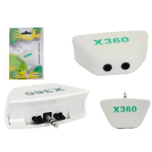 Adaptador com Entrada para Fone e Microfone Xbox 360 Tyx-018b