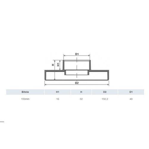 Adaptador de Ralo Linear para Caixa Sifonada 150 Mm