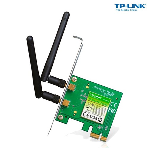 Adaptador PCI Express Wireless N 300mbps Tl-WN881ND - TP-Link