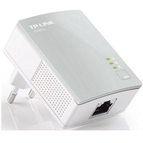 Adaptador Powerline - TP-Link Nano AV500 - Branco - TL-PA4010