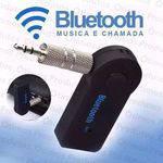 Adaptador Receptor de Áudio Bluetooth Usb Auxiliar P2 Carro