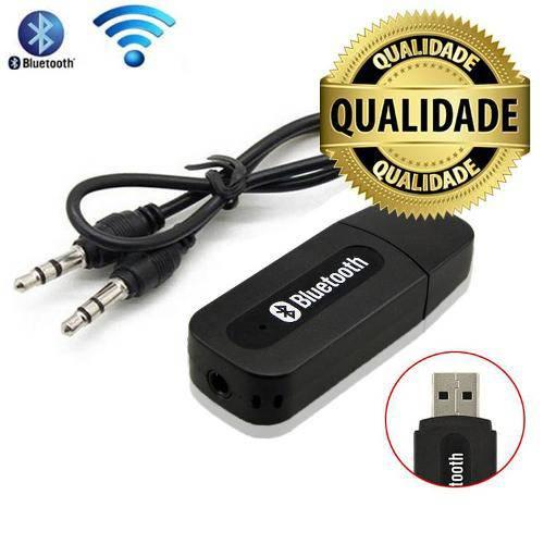 Adaptador Receptor de Música Bluetooth Usb Wireless P2