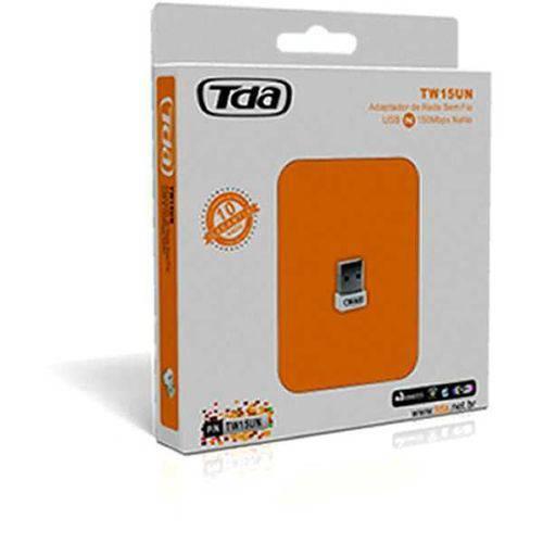 Adaptador Wireless Tda USB Tw15un Mini 150mbps 2,4ghz