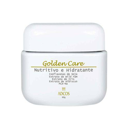 Adcos Golden Care Creme Nutritivo e Hidratante Facial 60g