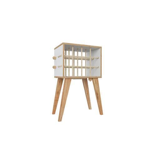 Adega 12 Garrafas Cordel-branco - Be Mobiliário