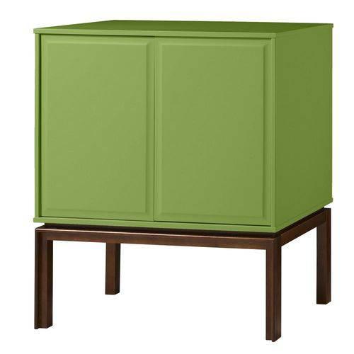 Adega Quartzo 2 Portas Cacau e Green
