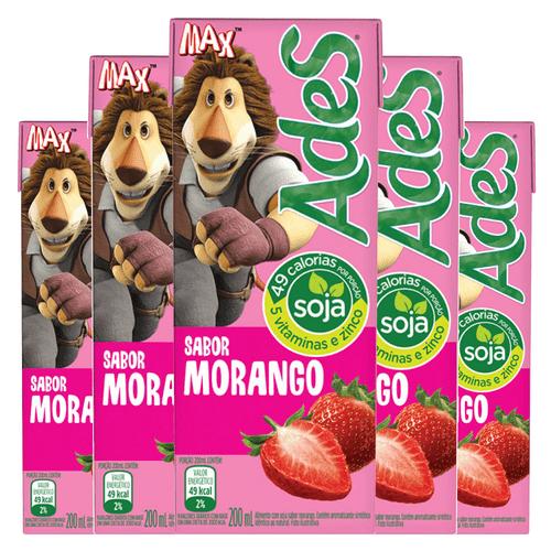 Ades de Morango 200ml ( Pack 6 Unidades)
