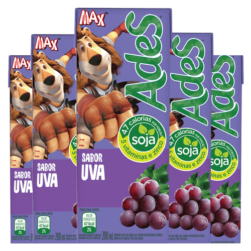 Ades de Uva 200ML ( Pack 6 Unidades)