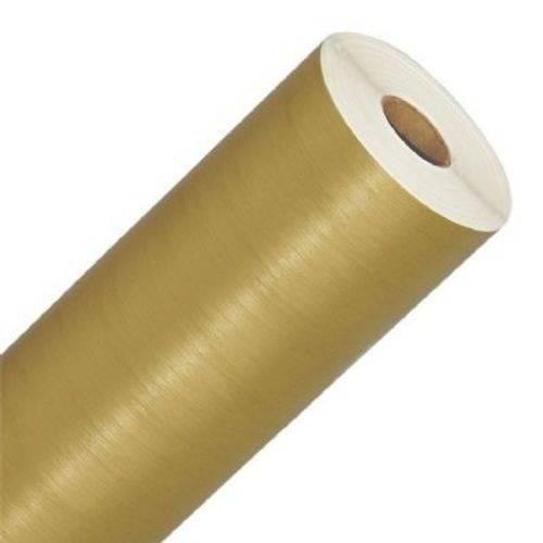 Adesivo Aço Escovado Dourado 2x1Metros