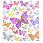 Adesivo Artesanal I Borboletas e Flores Ii Ad1637 - Toke e Crie
