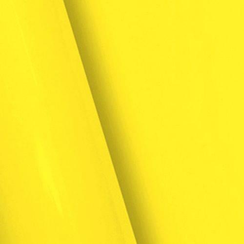 Adesivo Brilhante Amarelo Médio 0,50 X 5,00m