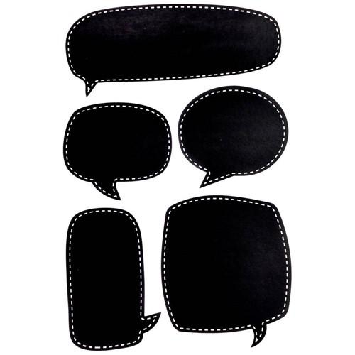 Adesivo Chalkboard Balões de Dialogo Ad1612 - Toke e Crie