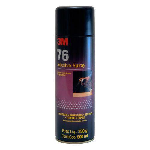 Adesivo Cola Spray 76 3m, 500ml, Alto Rendimento