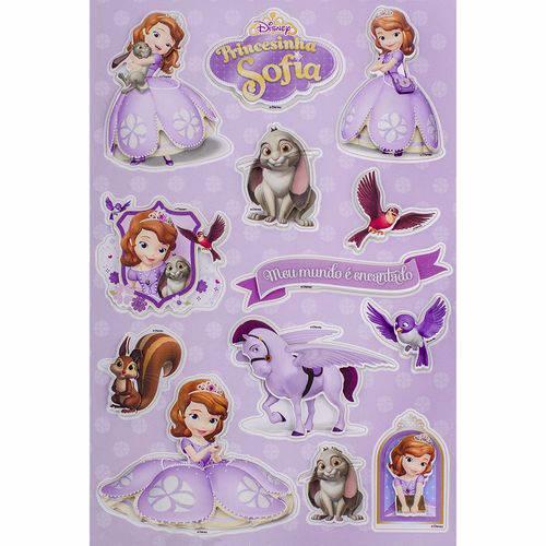 Adesivo 3d Disney Toke e Crie Add06 Princesinha Sofia