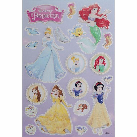 Adesivo 3d Disney Toke e Crie Add08 Princesas