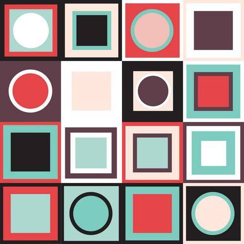 Adesivo de Azulejo Alegria 20x20 Cm com 24 Un