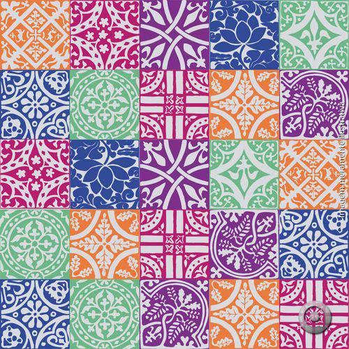 Adesivo de Azulejo Classicos 09 15x15