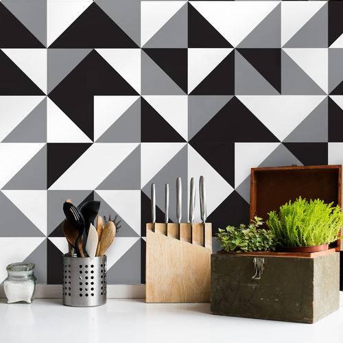 Adesivo de Azulejo Cozinha New York 20x20 Cm com 24 Un