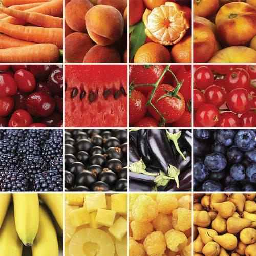 Adesivo de Azulejo - Frutas - 309Azpe