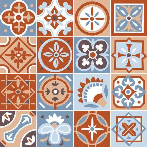 Adesivo de Azulejo - Ladrilho Hidráulico - N3342