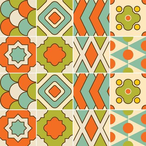 Adesivo de Azulejo - Ladrilho Hidráulico - N3357