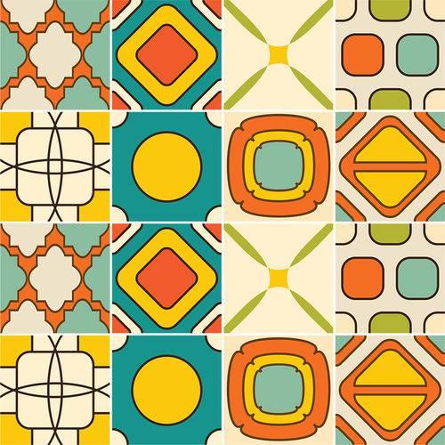 Adesivo de Azulejo - Ladrilho Hidráulico - N3360