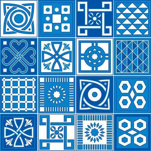 Adesivo de Azulejo - Ladrilho Hidráulico - N3365