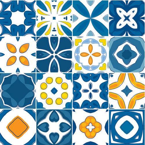 Adesivo de Azulejo - Ladrilho Hidráulico - N3371