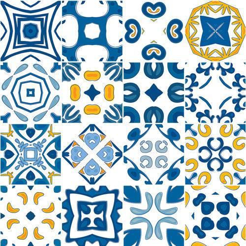 Adesivo de Azulejo - Ladrilho Hidráulico - N3379