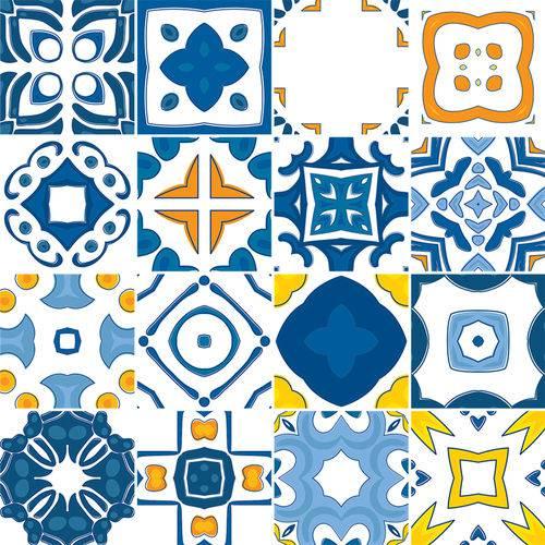 Adesivo de Azulejo - Ladrilho Hidráulico - N3380