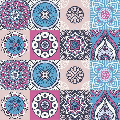 Adesivo de Azulejo - Ladrilho Hidráulico - N2388