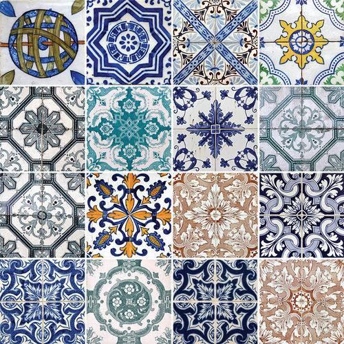 Adesivo de Azulejo - Ladrilho Hidráulico - N3320