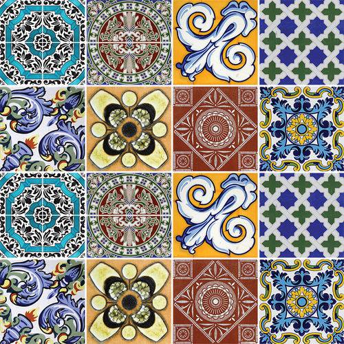 Adesivo de Azulejo - Ladrilho Hidráulico - N3313