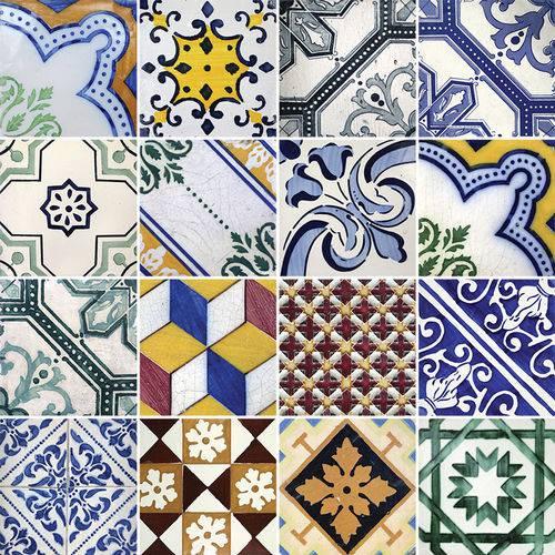 Adesivo de Azulejo - Ladrilho Hidráulico - N1315