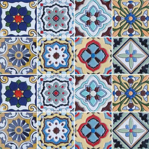 Adesivo de Azulejo - Ladrilho Hidráulico - N2317
