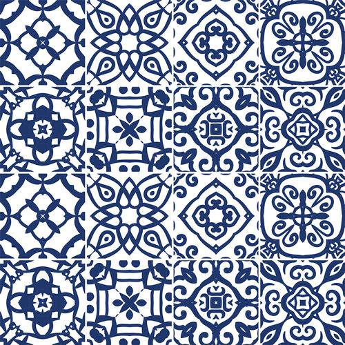 Adesivo de Azulejo - Ladrilho Hidráulico - N2340